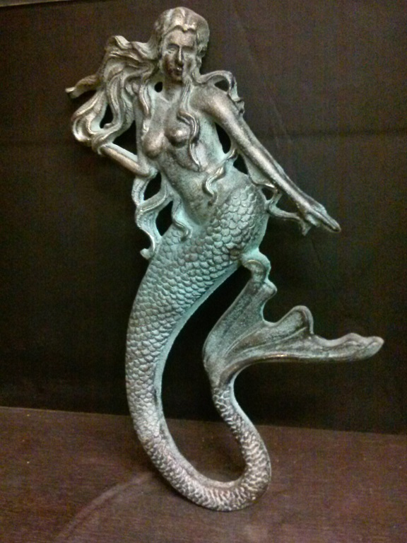 Cast Iron Mermaid (wall hanging)