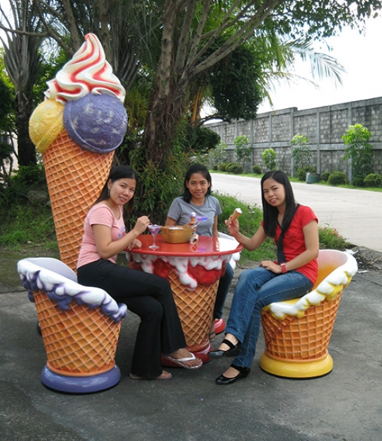 Ice Cream Chair - Grape
