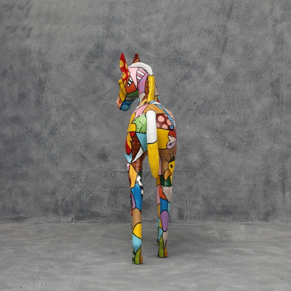 Popart Foal - Click Image to Close
