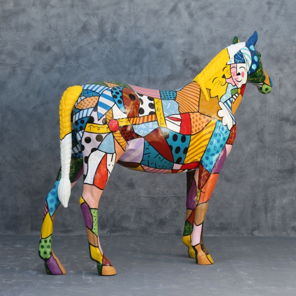 Popart Horse