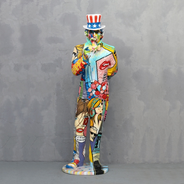 Popart Uncle Sam