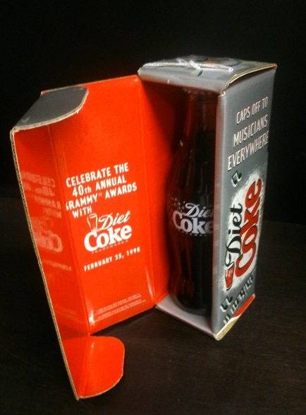 Collectible Coca-Cola bottle