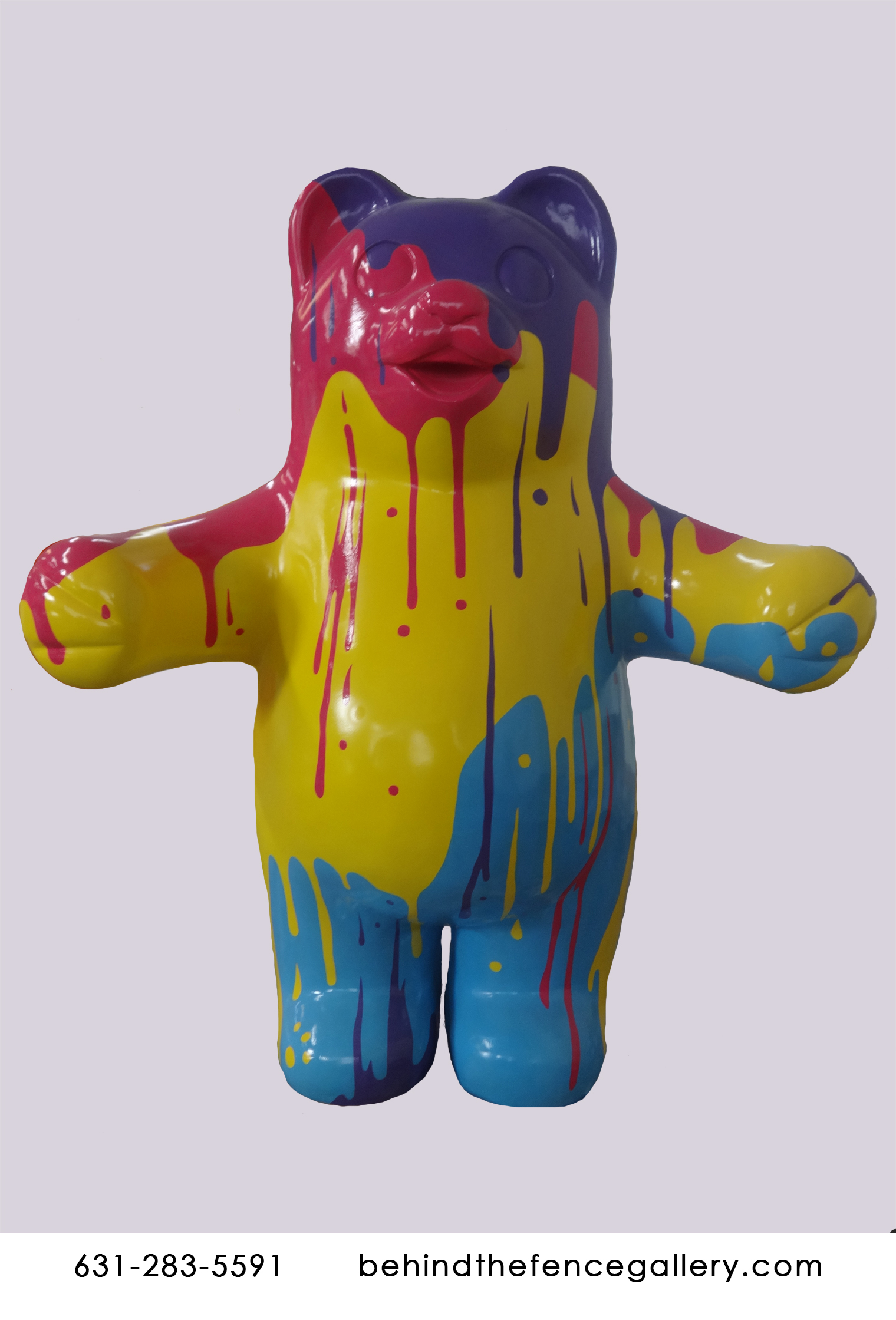 Pop art Jumbo Gummy Bear