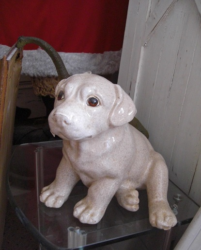 Porcelain Puppy - Click Image to Close