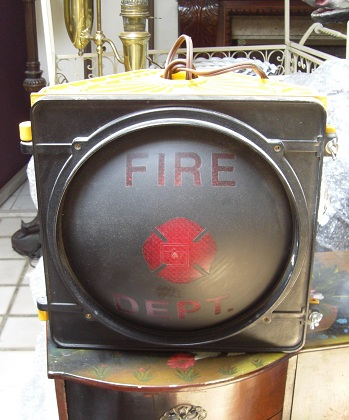 "Traffic Light - ""Fire Dept."""