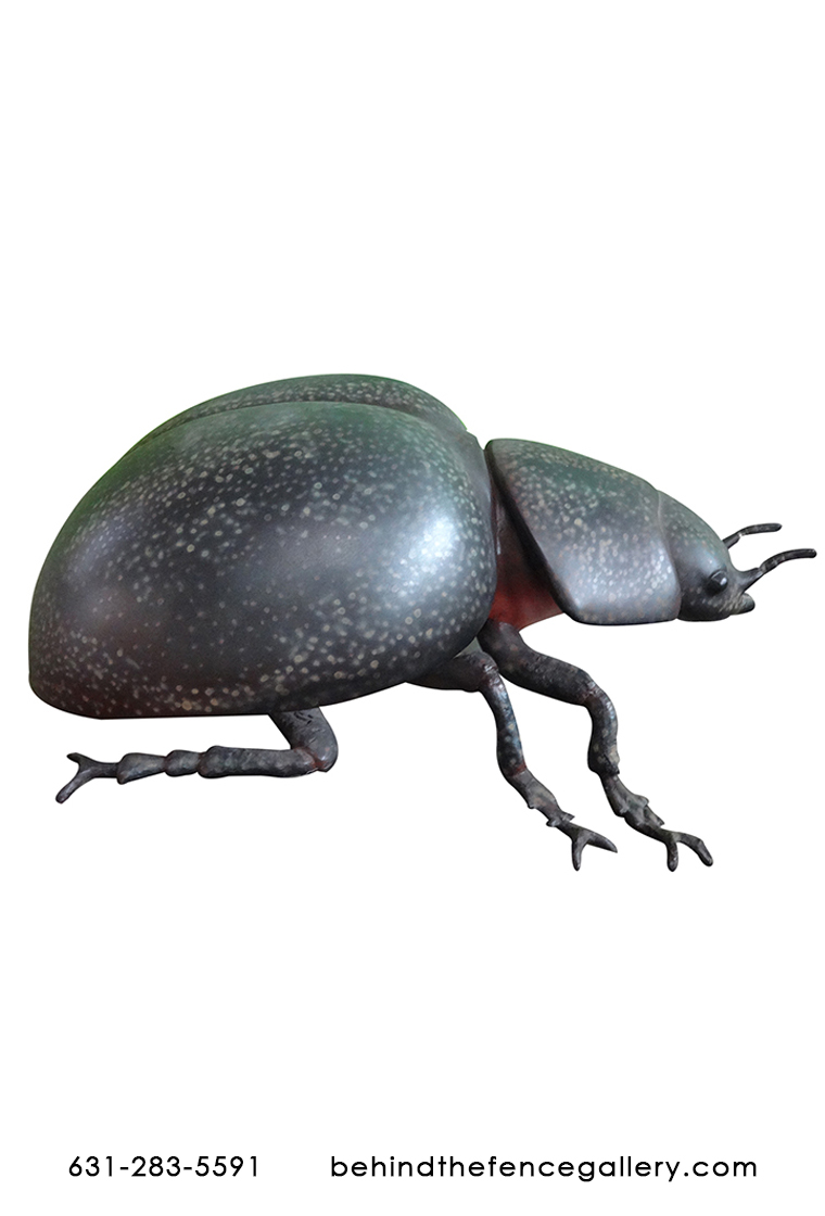 Over Sized Beetle Garden Statue