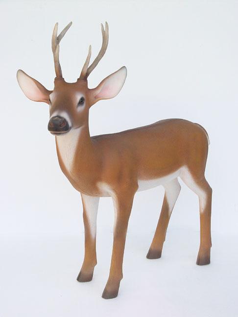 bambi small deer statue