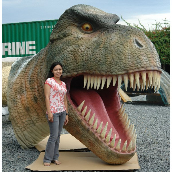 T-Rex Head Lifesize