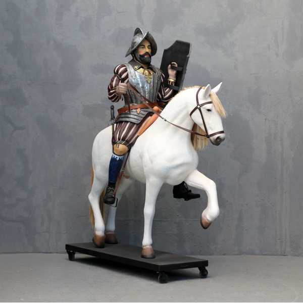 Spanish Knight on Horse