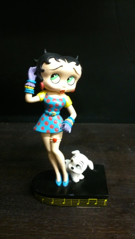 Betty Boop Sings The Blues