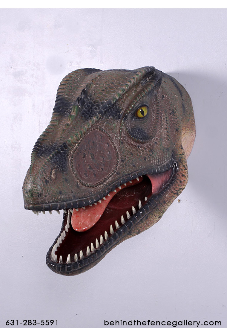 Allosaurus Head Wall Mount