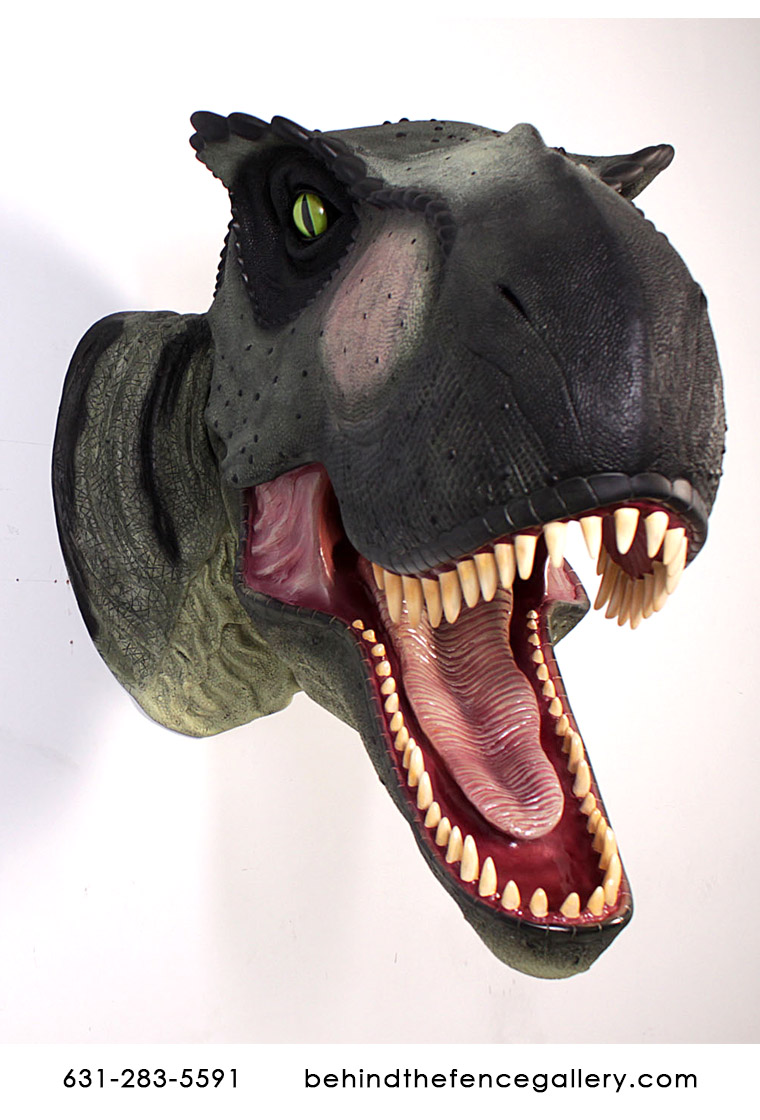 Giant T-Rex Head Wall Mount