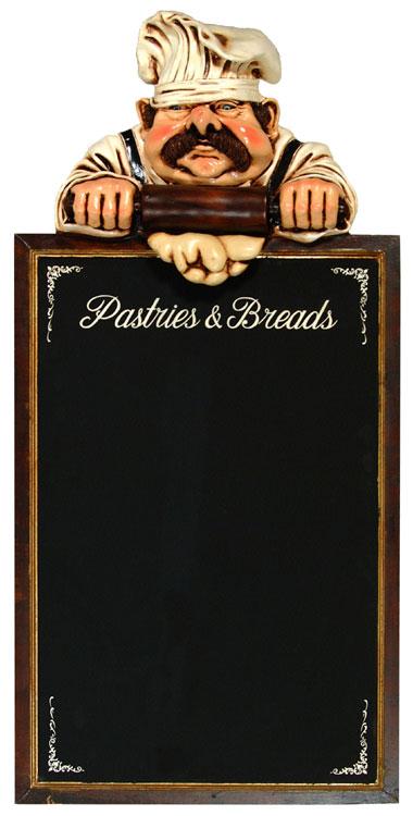 Pastry Chef Blackboard
