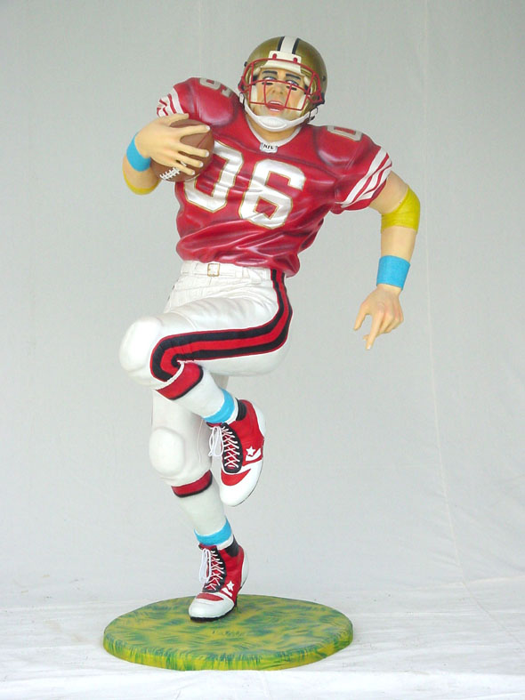 Football Player Lifesize 6 Ft.