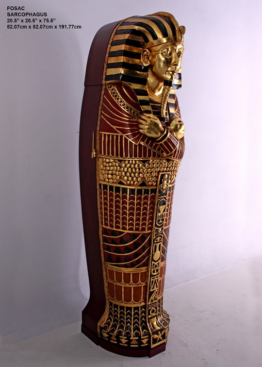 Fiberglass Sarcophagus - Click Image to Close