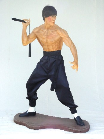 Bruce Lee Height / Life-size