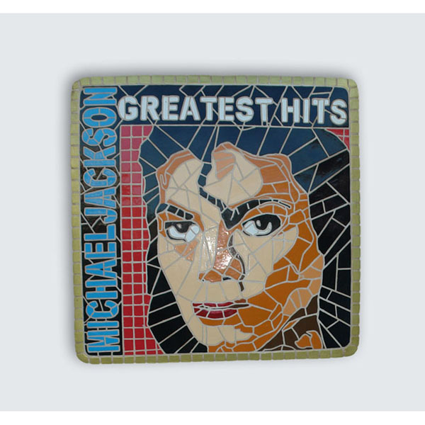 Singer Mosaic Decor Michael Jackson