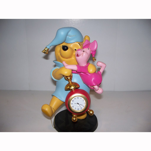 Pooh Bear and Piglet Clock