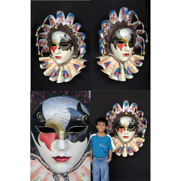 Jolly Brocade Wall Mask