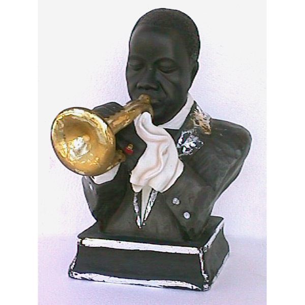 Singer Trumpeter Louis Armstrong