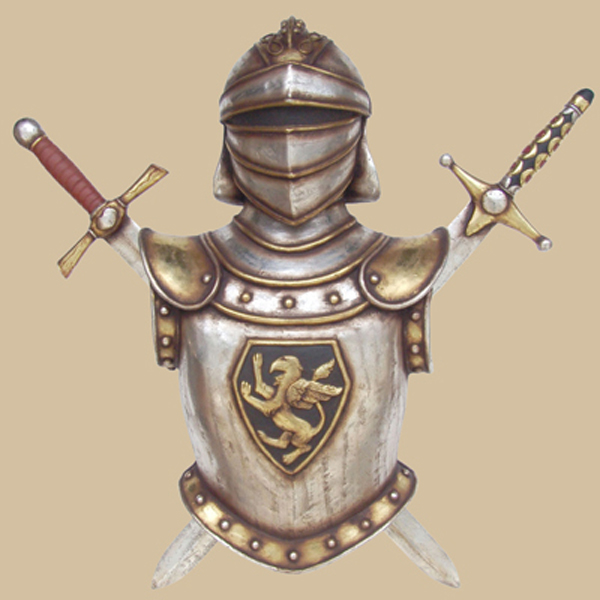 Late 17th Century Armour with sword wall