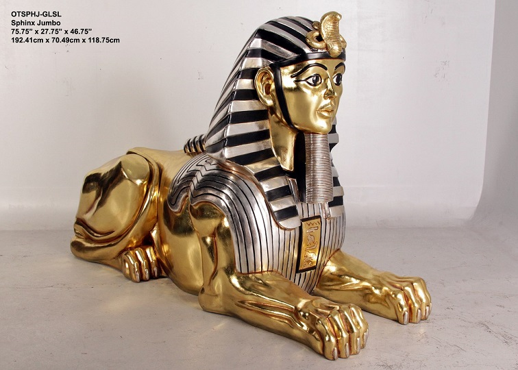 Egyptian Sphinx Sculpture