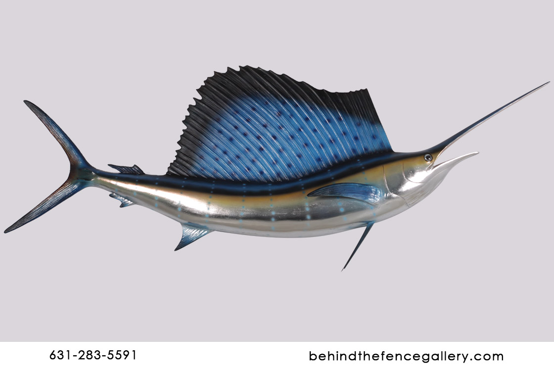 Wall Mounted Sailfish