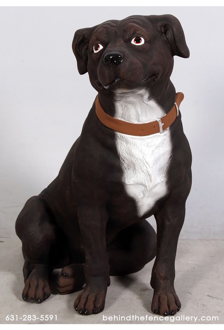 Staffordshire Terrier Dog Statue