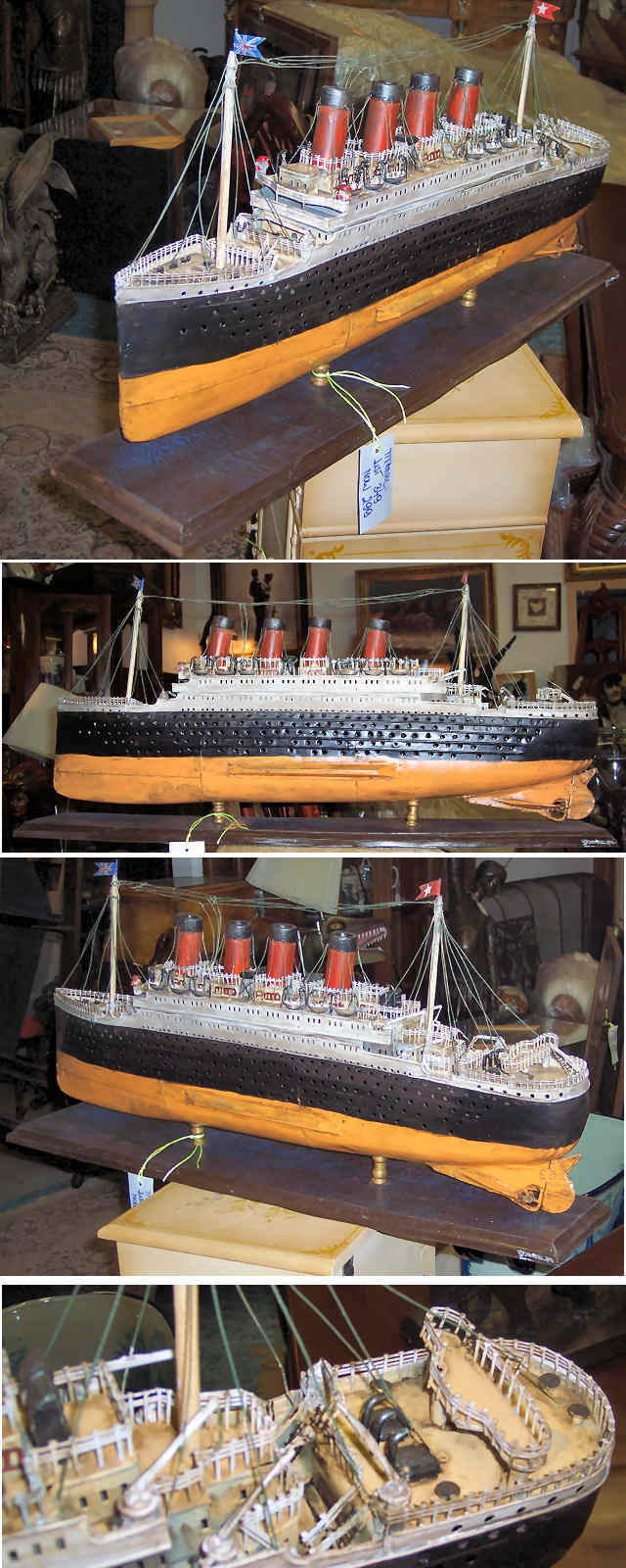"Tin Model of ""Titanic\"""