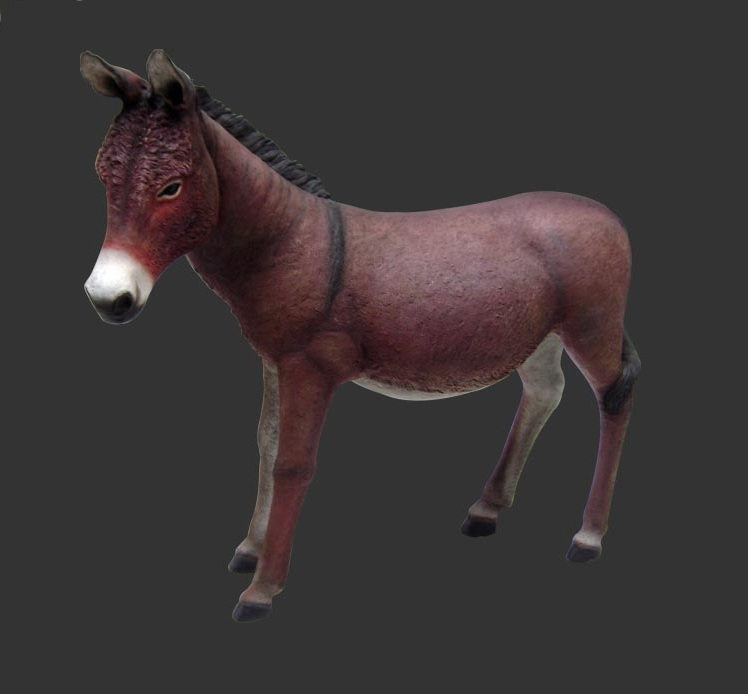 Donkey Statue (Brown)