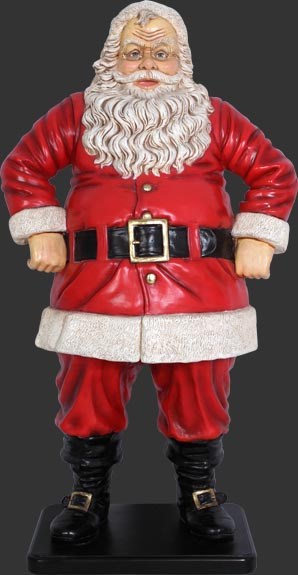 Jolly Santa 4ft. / Fiberglass