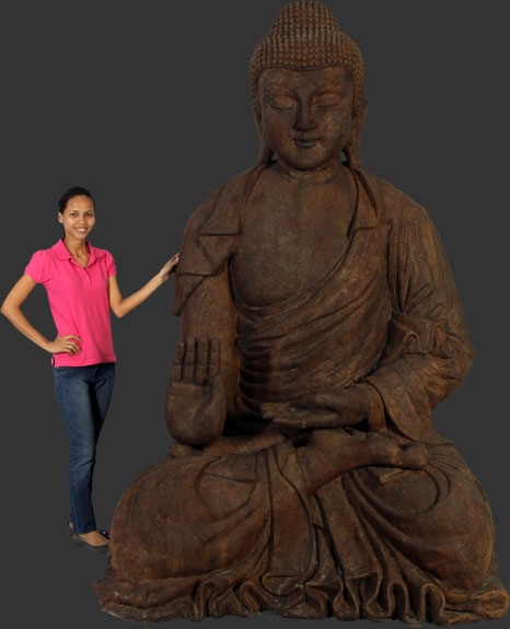Giant Buddha Statue / Conrete Finish