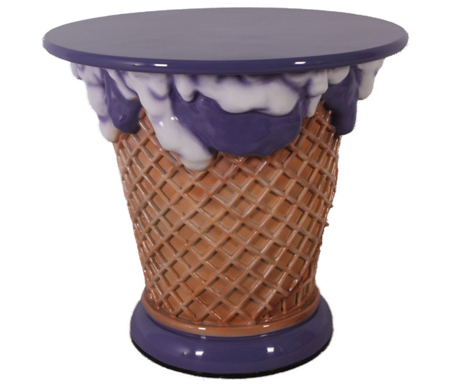 Ice Cream Table - Grape