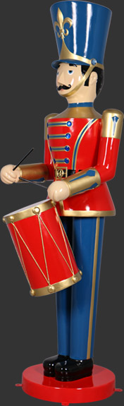 Toy Soldier with Drum 9ft.