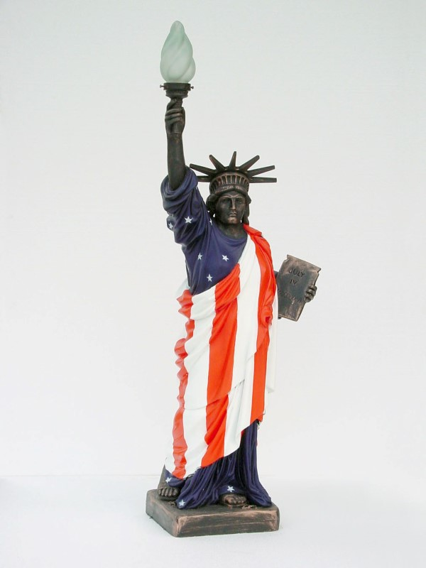 American Flag Statue of Liberty