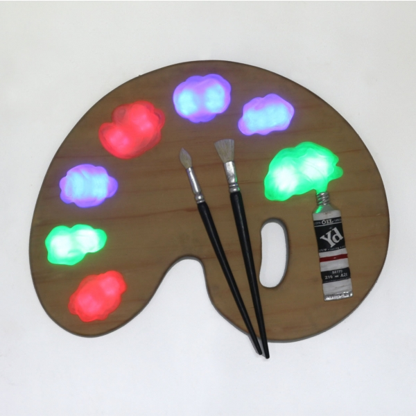 Painter Palette with LED