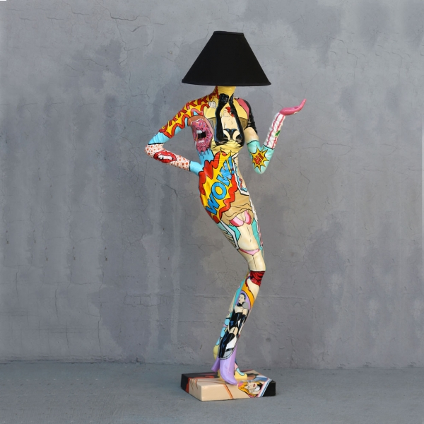 Pop Lady Lamp