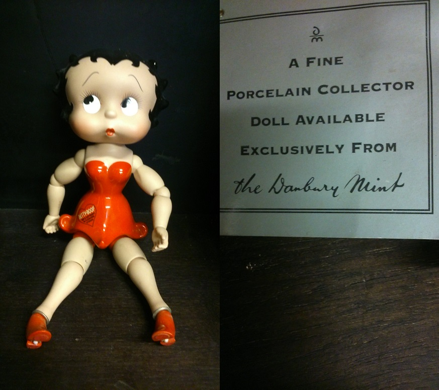 Moving Betty Boop Doll
