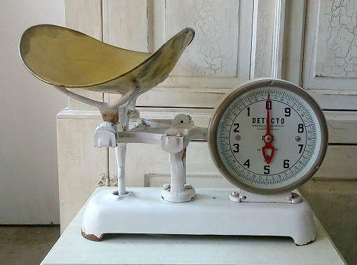 Antique Infant Scale