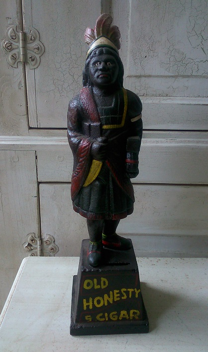 Cigar Store Indian Foundry Iron Bank