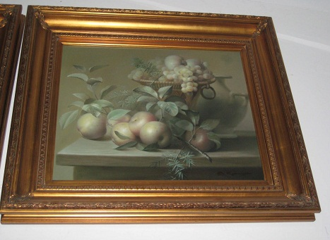 Oil Painting- Fruits