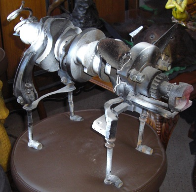 Sculpture of Pig Welded Art