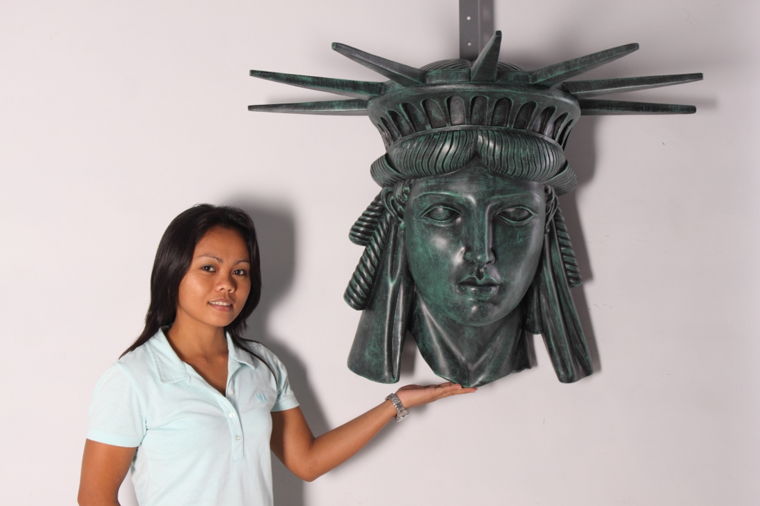 Statue of Liberty (face only design)