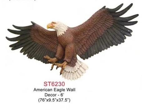 American Eagle Decor 6 ft.