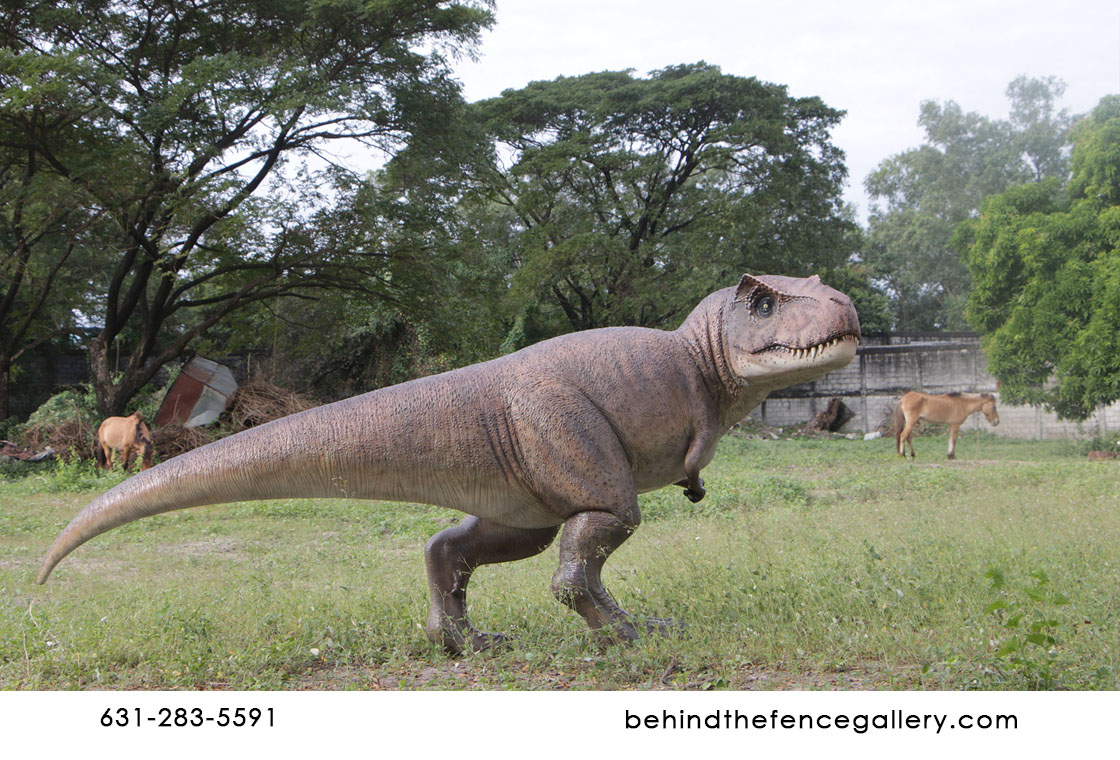 Young Trex Statue