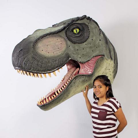 Giant T-Rex Head