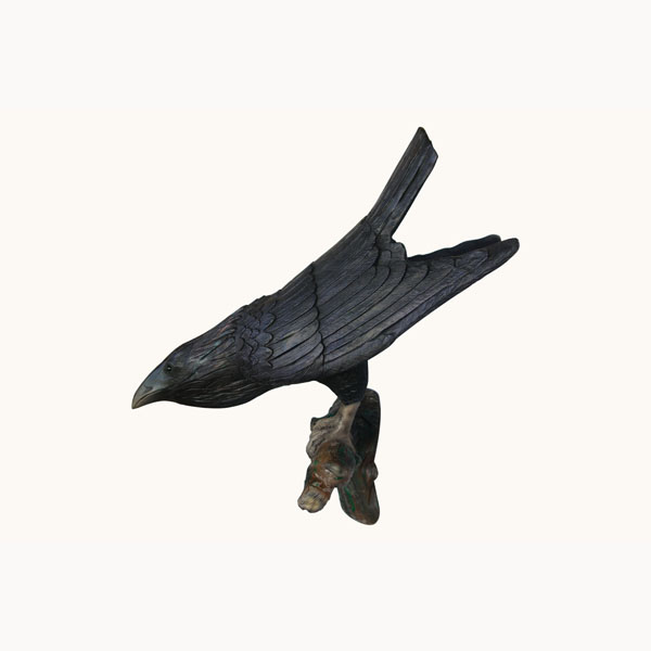 Raven (Head Down) Wall Decor