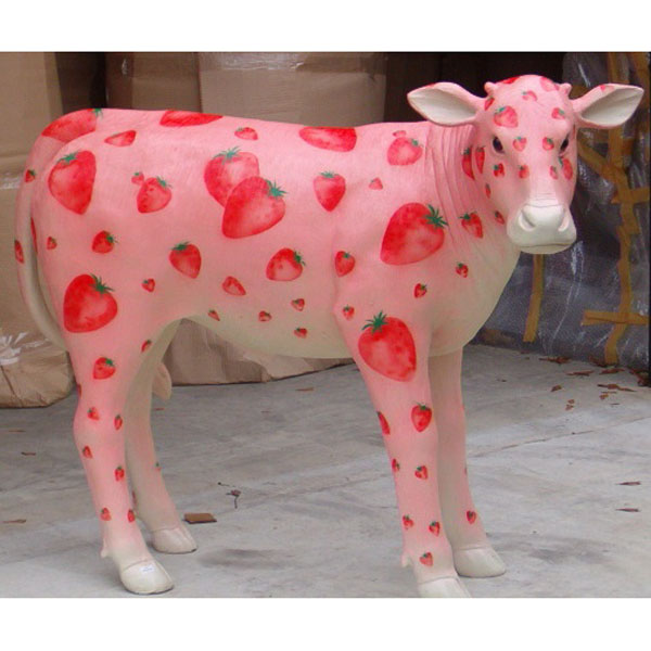Strawberry Milkshake Cow