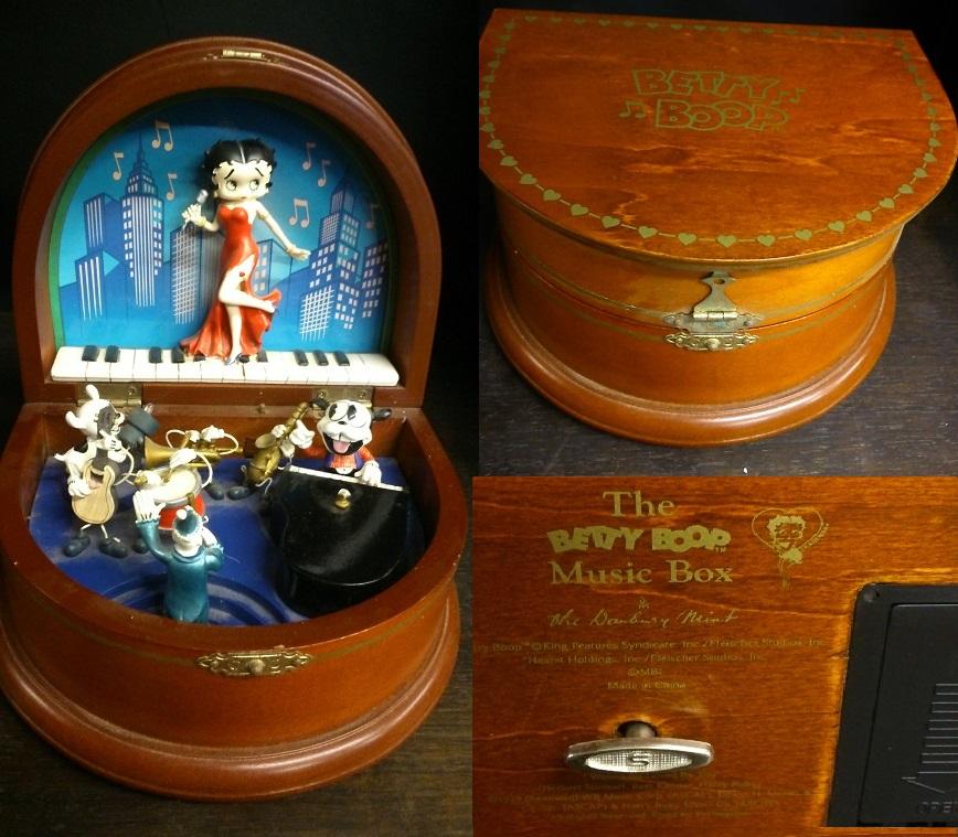 Betty Boop Music Box Boop04 Life