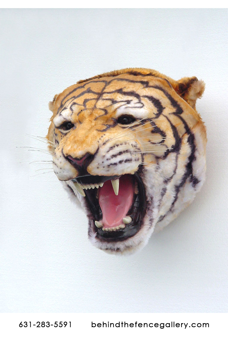 Tiger Head Wall Head Mount